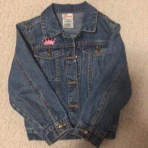 Girls Disney jean jacket